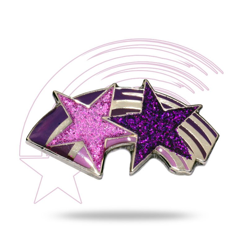Purple Rainbow Badge